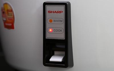 Nồi cơm điện Sharp KSH-777V 7 lít chất lượng tốt