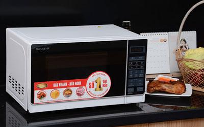 Lò vi sóng Sharp R-G271VN 20 lít giảm giá tại nguyenkim.com