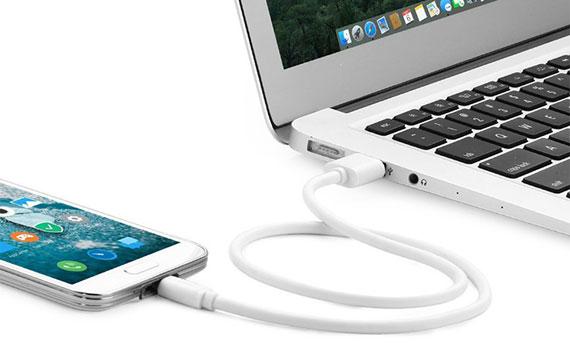 Dây cáp Micro USB Pisen 800mm sử dụng đa năng