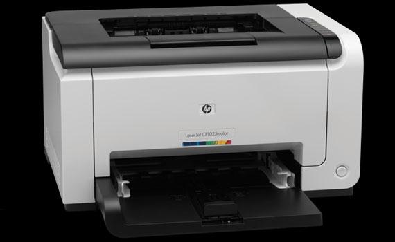 Thiết kế máy in laser HP LaserJet Pro CP1025 nhỏ gọn