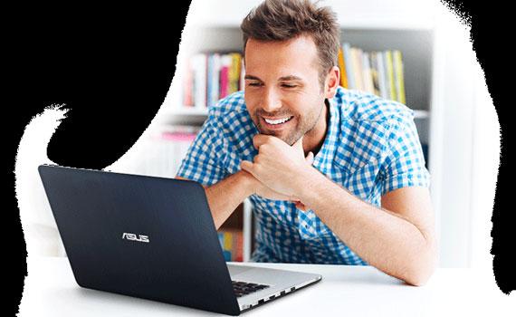 Thiết kế laptop Asus K501LX DM082D mỏng gọn