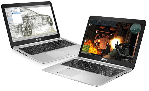 Laptop Asus K501LX DM082D trang bị chip Intel Core i5 mạnh mẽ