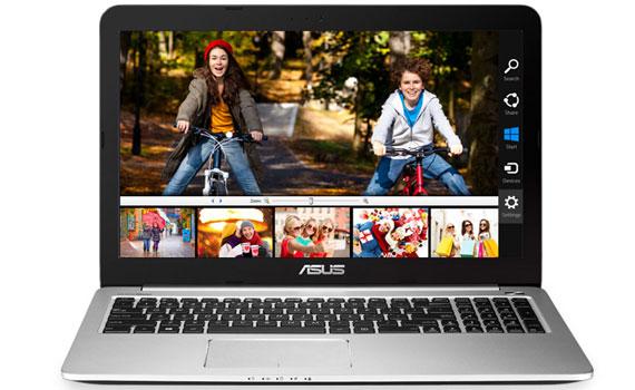 Màn hình laptop Asus K501LX DM082D cho hình ảnh sắc nét