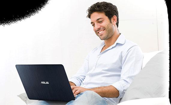 Bàn phím laptop Asus K501LX DM082D dễ thao tác