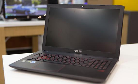 Màn hình laptop Asus ROG GL552VX DM143D cho hình ảnh sắc nét