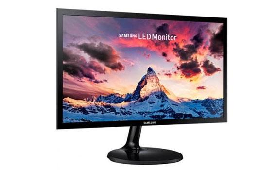 Kích thước màn hình vi tính Samsung LS19F350HNEXXV lớn.