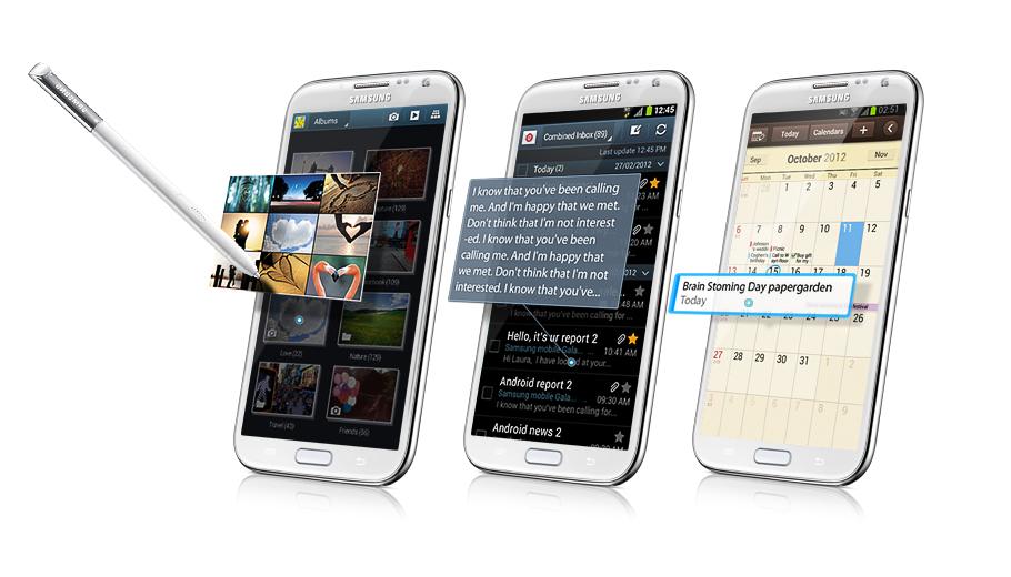 Samsung Galaxy Note 2 N7100 duyệt tìm ảnh nhanh và thuận thiện mà không phải mở bất kỳ thư mục nào