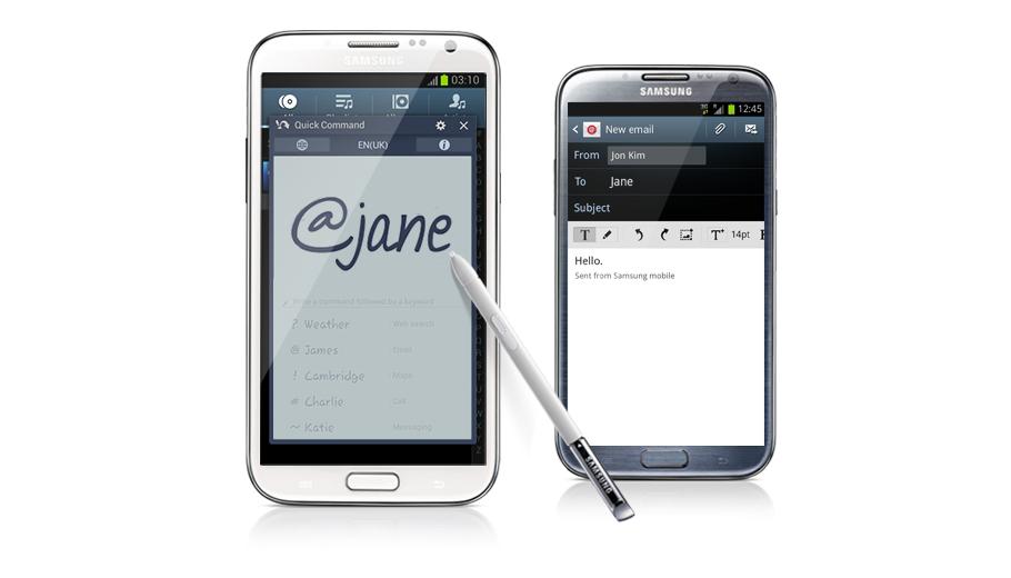 Gửi email, thực hiện cuộc gọi, gửi tin nhắn cho bạn bè, chia sẻ cuộc họp và rất nhiều tính năng khác chưa bao giờ dễ dàng hơn thế với Samsung Galaxy Note 2 N7100