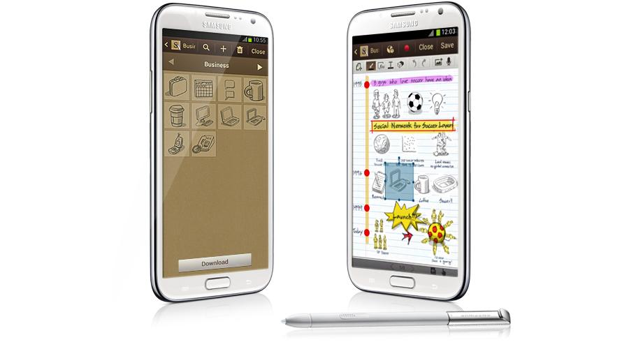 Ghi lại hình dung các công việc của bạn trong ngày với công cụ chuyên nghiệp Samsung Galaxy Note 2 N7100