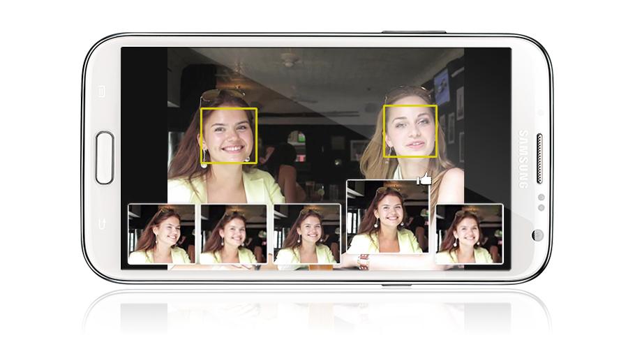 Samsung Galaxy Note 2 N7100 lưu giữ những hình ảnh hoàn hảo bằng cách nắm bắt các tư thế hoàn hảo nhất khi chụp