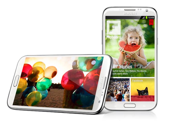 Samsung Galaxy Note 2 N7100 màn hình Super Amoled HD đưa hình ảnh sống động đến gần bạn hơn