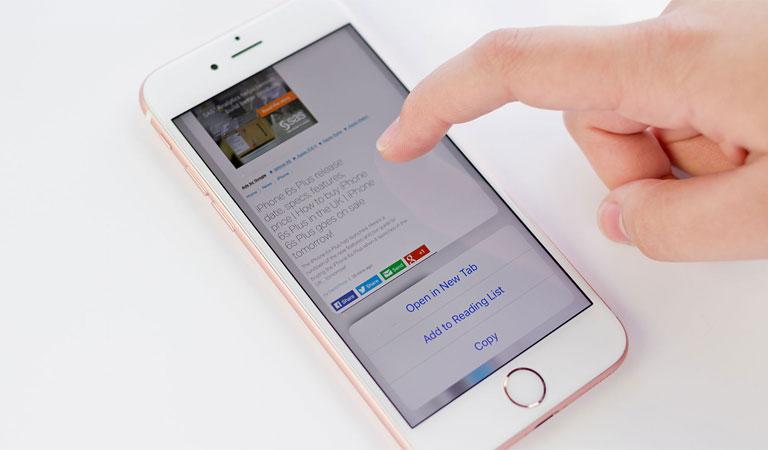 Touch ID nhanh hơn bảo mật hơn trên đt iPhone 6s