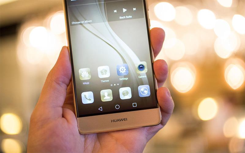Điện thoại Huawei P9 gold màn hình 5.2 inch Full HD