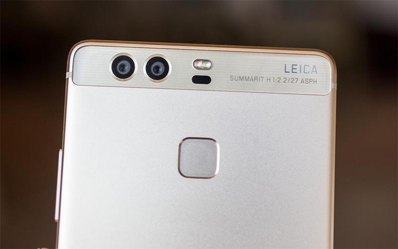 Điện thoại Huawei P9 gold có camera kép Leica 12MP
