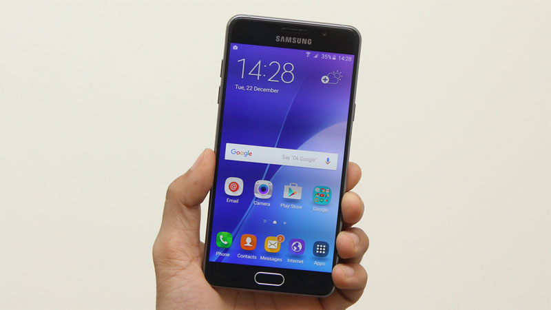 Điện thoại Samsung Galaxy A5 Black có cảm biến vân tay