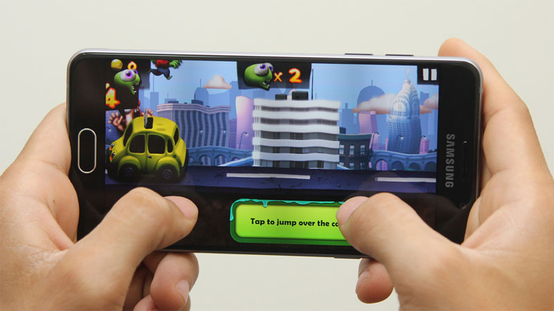 Điện thoại Samsung Galaxy A5 Black với chip 8 nhân RAM 2GB