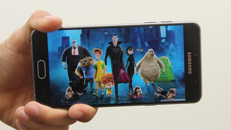 Điện thoại Samsung Galaxy A5 Black màn hình Super AMOLED 5.2 inch
