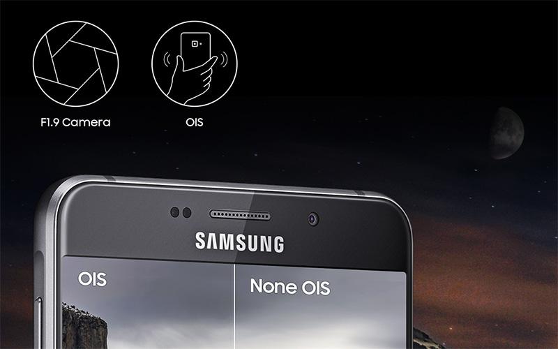 Điện thoại Samsung Galaxy A9 Pro camera sau 16MP chống rung OIS