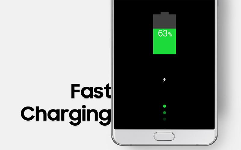 Điện thoại Samsung Galaxy A9 Pro pin tích hợp sạc nhanh