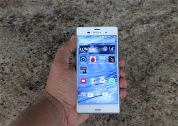 ĐTDĐ Sony Xperia Z3 Plus màu trắng đang khuyến mãi tại Nguyễn Kim