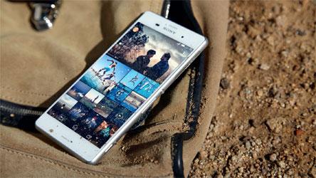 Mua smartphone Sony Xperia Z3 Plus màu trắng trả góp miễn lãi suất