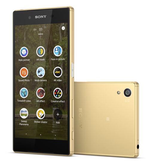Điện thoại Sony Xperia Z5 Dual gold giá bao nhiêu