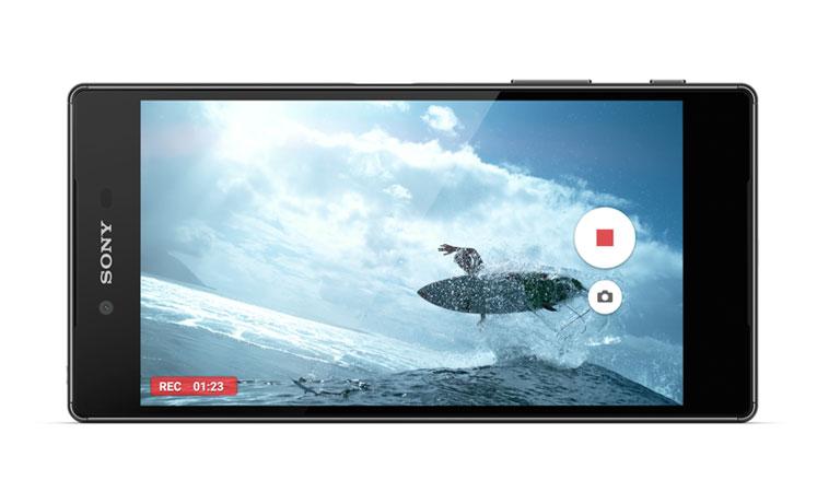 Điện thoại Sony Xperia Z5 Dual black có camera trước 5MP