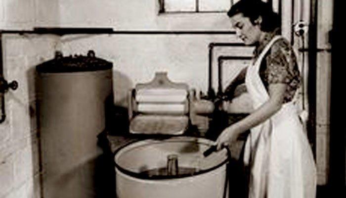 máy giặt ngày càng trở nên phổ biến