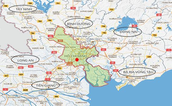 Nguyễn Kim khu vực TP Hồ Chí Minh