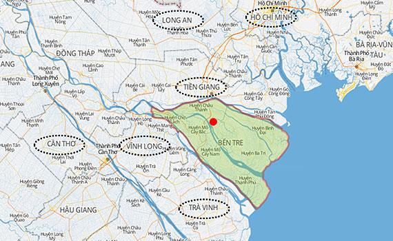 Nguyễn Kim khu vực Bến Tre