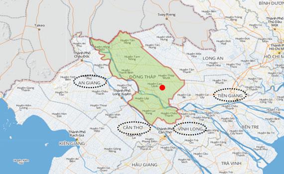 Nguyễn Kim khu vực Đồng Tháp
