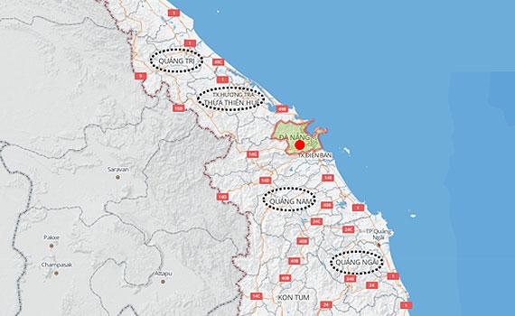 Nguyễn Kim khu vực TP Đà Nẵng