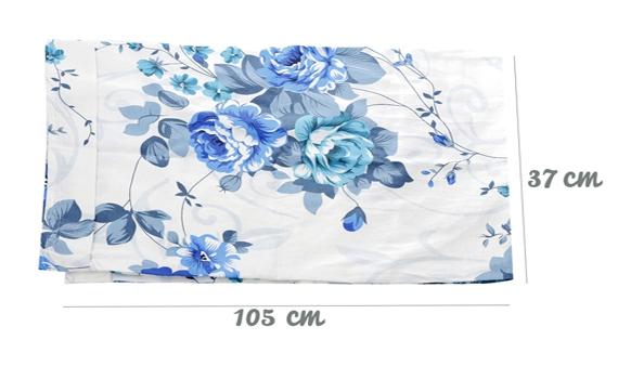 Áo gối đầu Hometex 37X105cm làm từ vải cotton thoáng mát