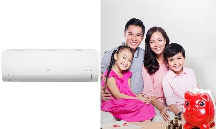 Máy lạnh LG Inverter 1.5HP V13ENR tiết kiệm chi phí tiền điện