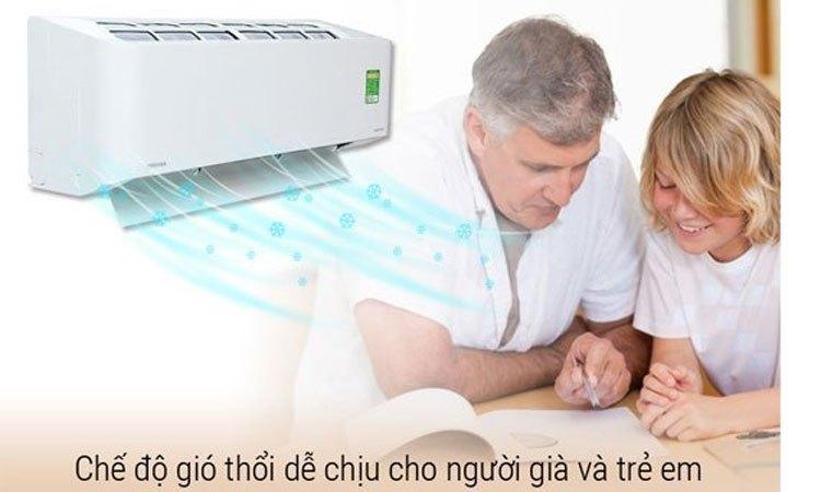 Máy lạnh Toshiba 1.5 HP RAS-H13PKCVG-V làm mát nhanh chóng và dễ chịu