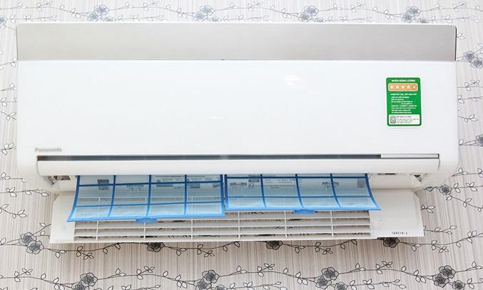 Máy lạnh Panasonic CS-VU12SKH-8 1.5 HP hê thống tản nhiệt Radiant Cooling