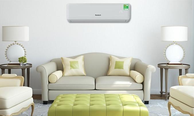 Máy lạnh Reetech 1.5 HP RT12-BF-A/RC12-BF-A thiết kế thanh lịch