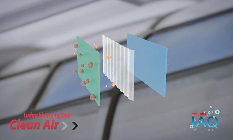 Máy lạnh Toshiba RAS-H10PKCVG-V 1 HP kháng khuẩn tốt