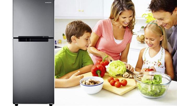 Tủ lạnh Samsung 208 lít RT19M300BGS/SV hiện đại