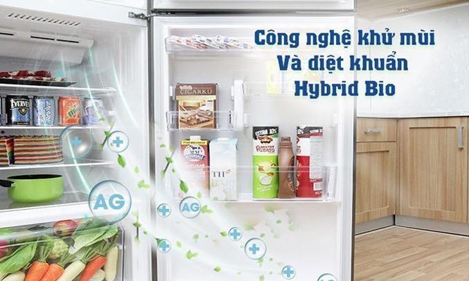 Tủ lạnh Toshiba GR-A25VU (UK) màu đen làm lạnh nhanh khắp các ngăn tủ