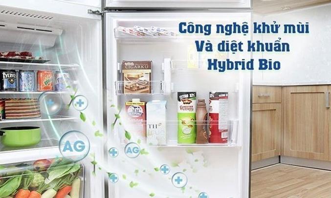 Tủ lạnh Toshiba GR-M28VBZ(DS) khử mùi diệt khuẩn vượt trội