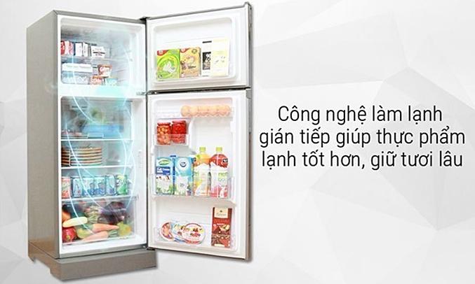 Tủ lạnh Toshiba GR-M28VBZ(DS) bảo quản thực phẩm tươi tốt