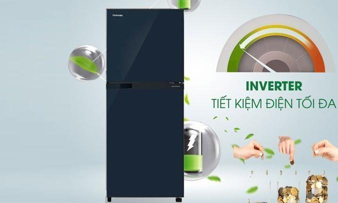 Tủ lạnh Toshiba GR-A28VU (UB) xanh đen tiết kiệm điện