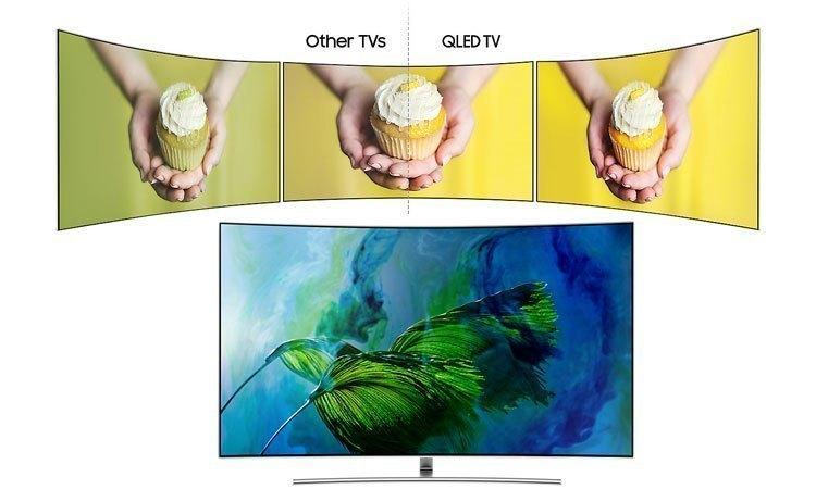 Tivi QLed Samsung UHD QA65Q8CAMKXXV cho hình ảnh thật trung thực