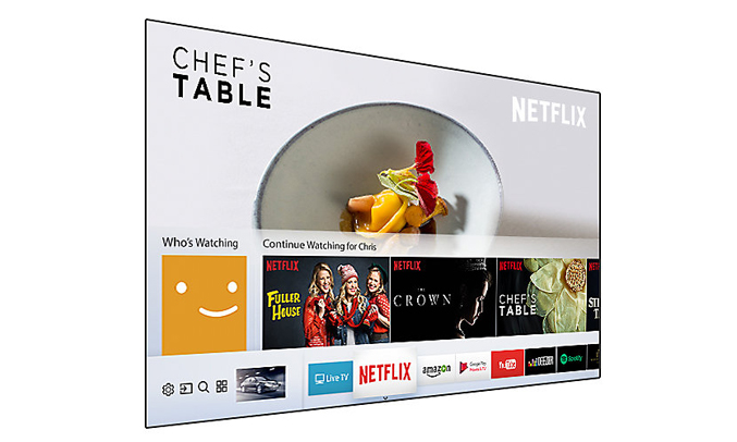 Smart tivi Samsung 55 inch UA55NU7100KXXV kết nối đa dạng, nhanh chóng