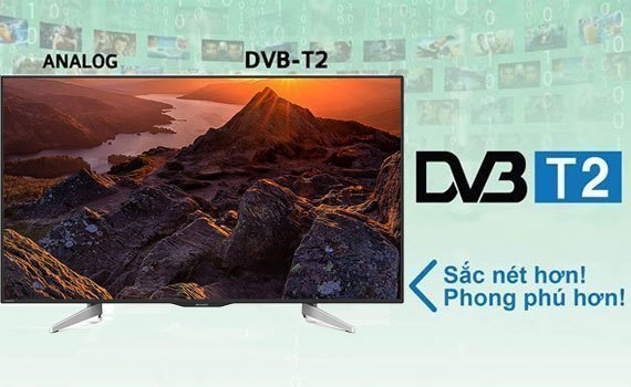 Tivi LED Sharp LC-50UA440X tích hợp đầu thu KTS DVB-T2