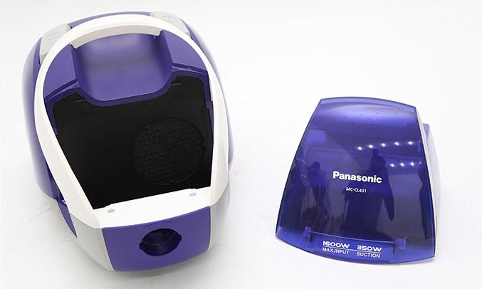 Máy hút bụi Panasonic CL431 có hộp chứa bụi