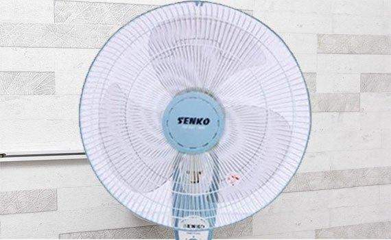 Quạt treo Senko TC1626 màu môn mát khắp cả phòng