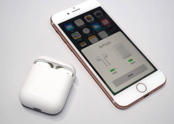 Tai nghe không dây Apple trang bị chip âm thanh thông minh