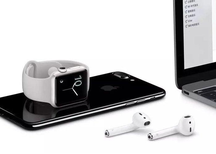 Tai nghe không dây Apple AirPods tự động cài đăt và chuyển đổi thiết bị